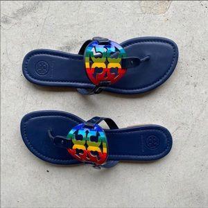 ▪️Tory Burch▪️rainbow Miller sandal